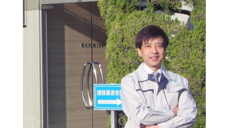 代表取締役社長 永島 伸泰の写真