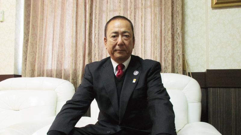 代表取締役 前村 幸夫の写真