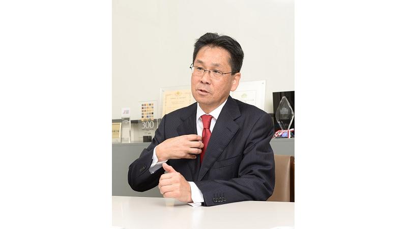 代表取締役社長 金子 晴房の写真