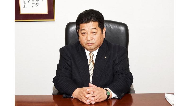 代表取締役社長 佐藤 芳明の写真