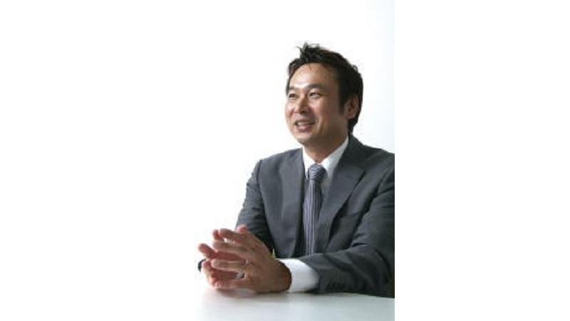 代表取締役社長 小松 伸克の写真