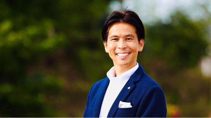代表取締役 小尾 勝吉の写真