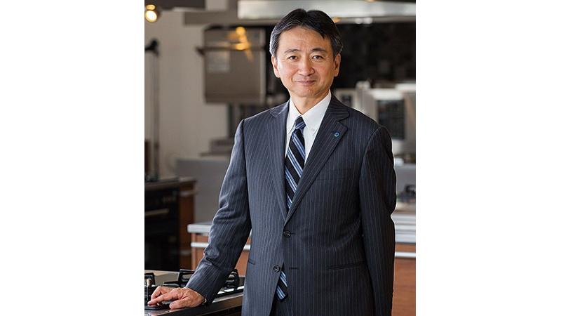 代表取締役社長 津曲 貞利の写真
