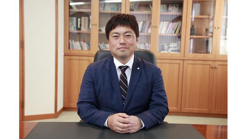代表取締役 林 健一郎の写真