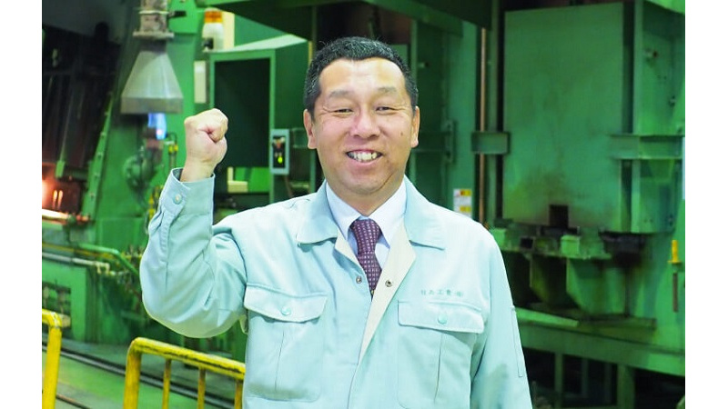 代表取締役社長 坂野 善洋の写真