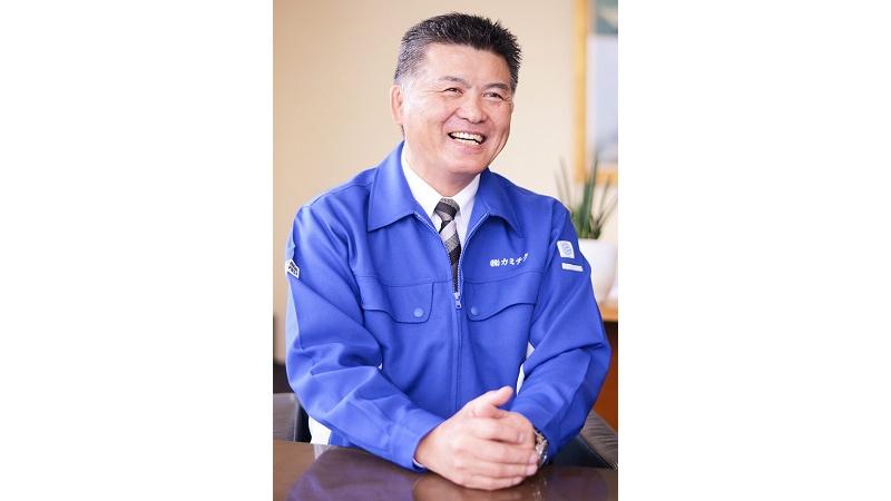 代表取締役社長 上村 昌志の写真