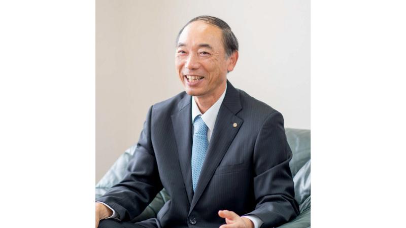 代表取締役社長 上田 文雄の写真
