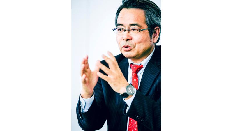 代表取締役 若杉 清一の写真