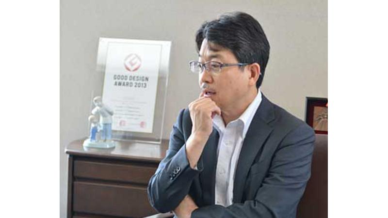代表取締役 清水 清人の写真