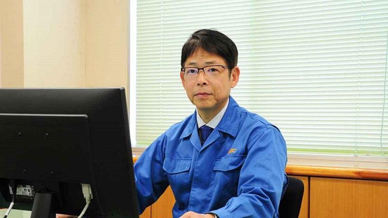 代表取締役社長 石田 一夫の写真