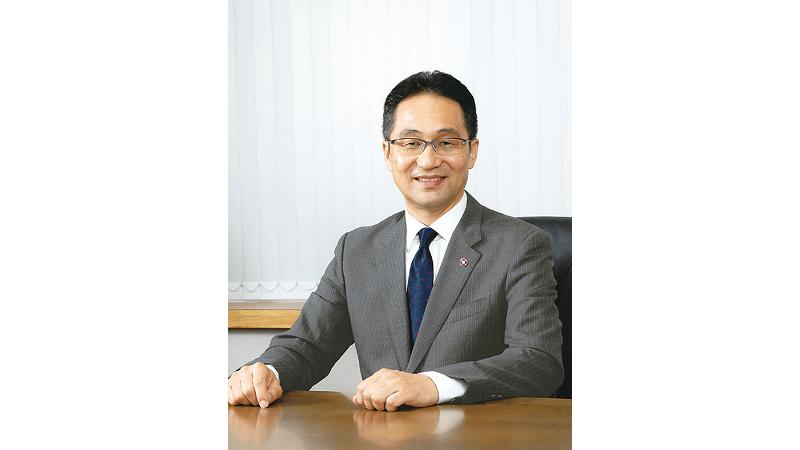 代表取締役社長 足立 道泰の写真