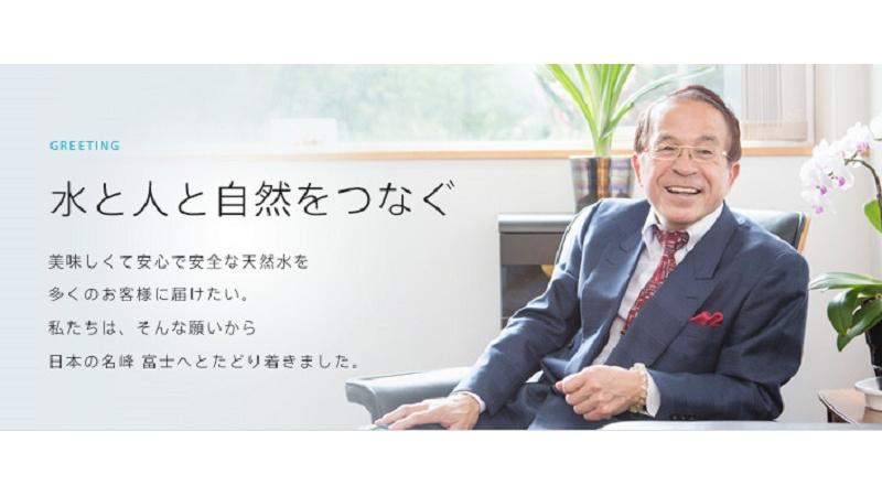代表取締役社長 粟井 英朗の写真