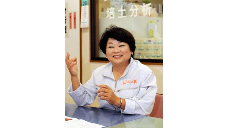 代表取締役会長 山村 恵美子の写真